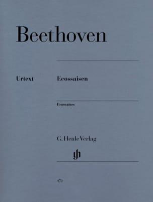 Ecossaises WoO 83 et WoO 86 BEETHOVEN Partition Piano - laflutedepan