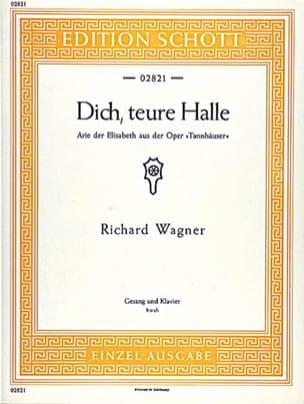 Dich, Treue Halle. Tannhäuser Wwv 70 WAGNER Partition laflutedepan