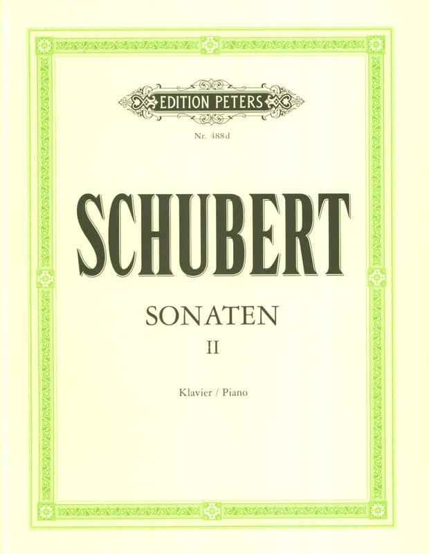 Sonates Volume 2 - SCHUBERT - Partition - Piano - laflutedepan.com