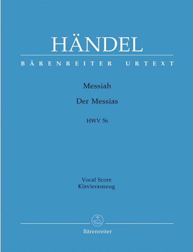 Messiah. Version Allemande - HAENDEL - Partition - laflutedepan.com