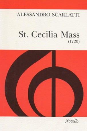 St. Cecilia Mass Alessandro Scarlatti Partition Chœur - laflutedepan