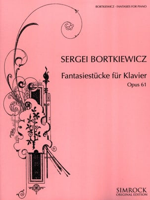 Fantasiestücke Opus 61 Serge Bortkiewicz Partition laflutedepan