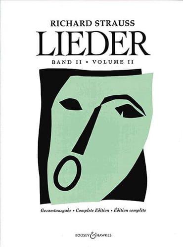 Lieder. Volume 2 Opus 43 A 68 - Richard Strauss - laflutedepan.com