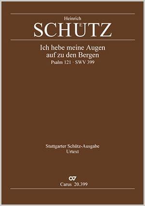 Ich Hebe Meine Augen Auf Zu Den Bergen Swv 399. Conducteur - laflutedepan.com