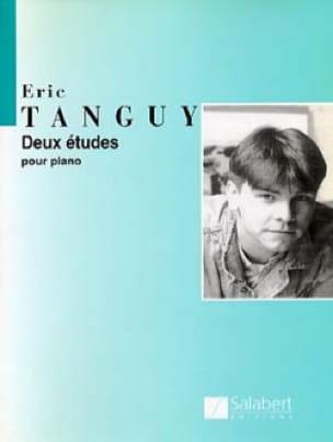 2 Etudes - Eric Tanguy - Partition - Piano - laflutedepan.com