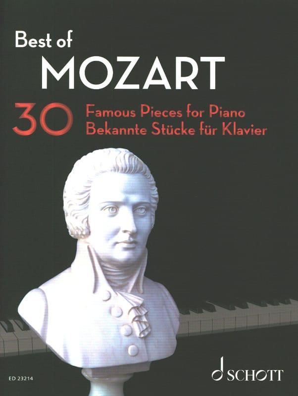 Best of MOZART - MOZART - Partition - Piano - laflutedepan.com