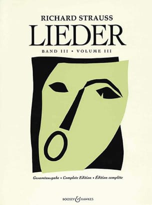 Lieder. Volume 3 Opus 69 A Opus 88 Richard Strauss laflutedepan