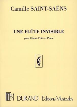 Une Flûte Invisible SAINT-SAËNS Partition laflutedepan