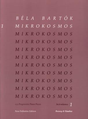 Mikrokosmos Volume 1 BARTOK Partition Piano - laflutedepan