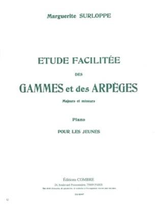 Etudes Facilitée des Gammes et Arpèges. - Surloppe - laflutedepan.com