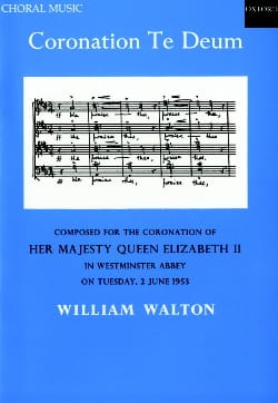 Coronation Te Deum - William Walton - Partition - laflutedepan.com