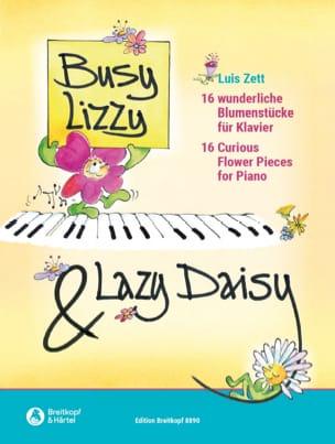 Busy Lizzy & Lazy Daizy - Zett Luis - Partition - laflutedepan.com