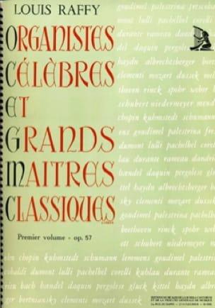 Organistes Célèbres et Grands Maîtres Classiques Volume 1 - laflutedepan.com