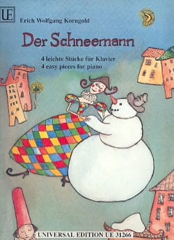 Der Schneemann KORNGOLD Partition Piano - laflutedepan