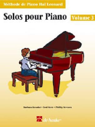 Solos Pour Piano Volume 3 Kreader / Kern Jerome / Keveren laflutedepan