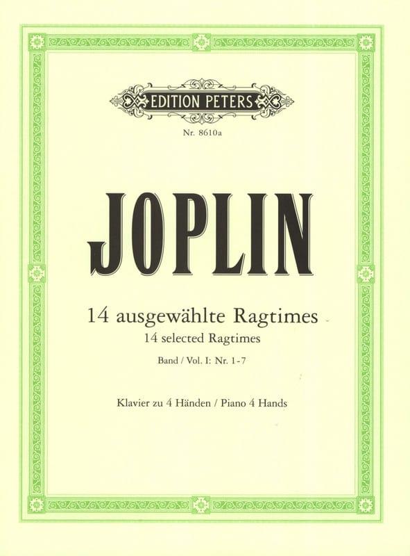 Ragtimes Volume 1. 4 Mains - JOPLIN - Partition - laflutedepan.com