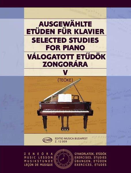 Etudes Vol 5. - Teoke - Partition - Piano - laflutedepan.com