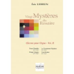 Vingt Mystères du Rosaire - Volume 2 - Eric Lebrun - laflutedepan.com