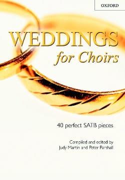 Wedding For Choirs Partition Chœur - laflutedepan