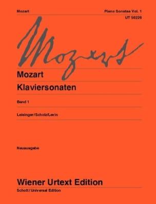 Sonates Volume 1 - Nouvelle Edition MOZART Partition laflutedepan