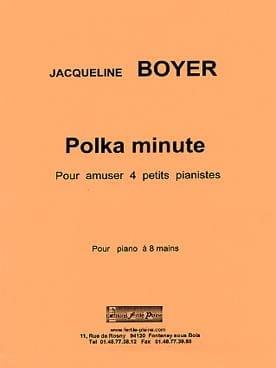 Polka minute. 8 mains Jacqueline Boyer Partition Piano - laflutedepan