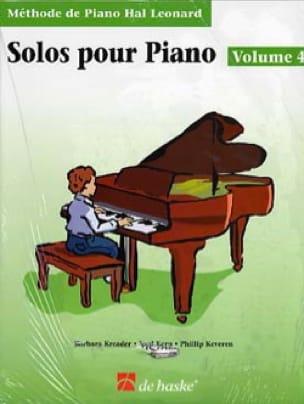 Solos Pour Piano - Volume 4 avec CD - laflutedepan.com