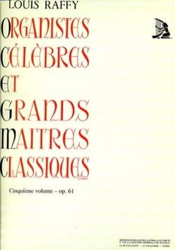 Organistes Célèbres et Grands Maîtres Classiques Volume 5 laflutedepan