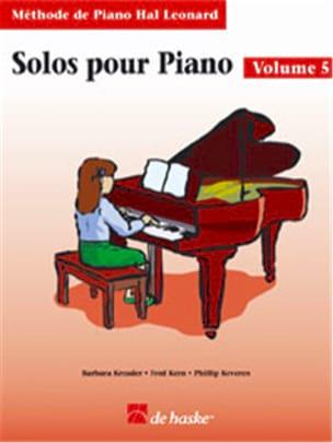 Solos Pour Piano Volume 5 Kreader / Kern Jerome / Keveren laflutedepan