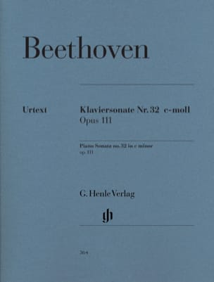 Sonate pour piano n° 32 en do mineur Opus 111 BEETHOVEN laflutedepan