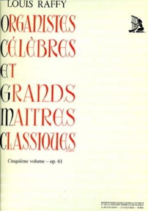 Organistes Célèbres et Grands Maîtres Classiques Volume 5 - laflutedepan.com
