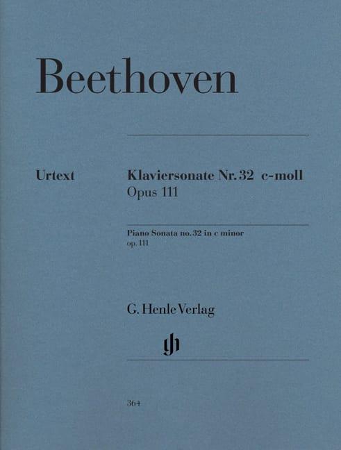 Sonate pour piano n° 32 en do mineur Opus 111 - laflutedepan.com
