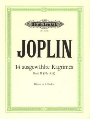 Ragtimes Volume 2. 4 Mains JOPLIN Partition Piano - laflutedepan
