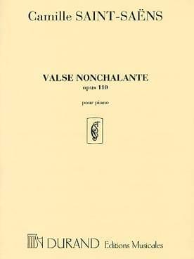 Valse Nonchalante Op. 110 SAINT-SAËNS Partition Piano - laflutedepan