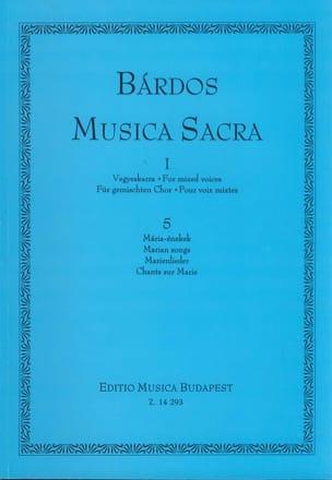 Musica Sacra Volume 1 Lajos Bardos Partition Chœur - laflutedepan