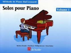 Solos Pour Piano Volume 1 Kreader / Kern Jerome / Keveren laflutedepan
