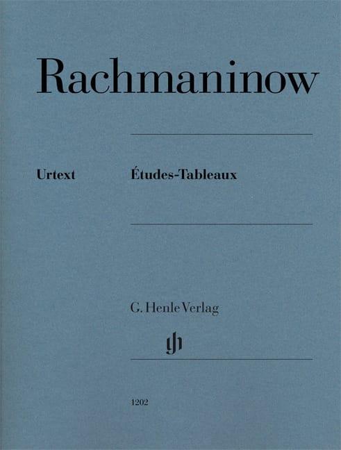 Etudes-tableaux Opus 33, 39 - RACHMANINOV - laflutedepan.com