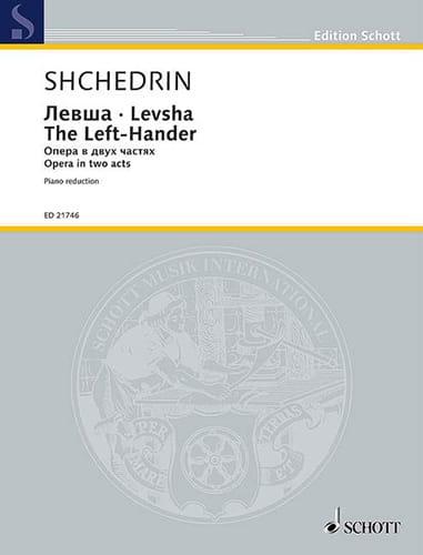 Levsha The Left-Hander - Rodion Chedrin - Partition - laflutedepan.com