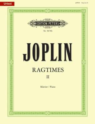 20 Ragtimes Volume 2 JOPLIN Partition Piano - laflutedepan