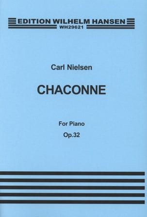 Chaconne Op. 32 NIELSEN Partition Piano - laflutedepan