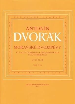 Chants Moraves DVORAK Partition Duos - laflutedepan