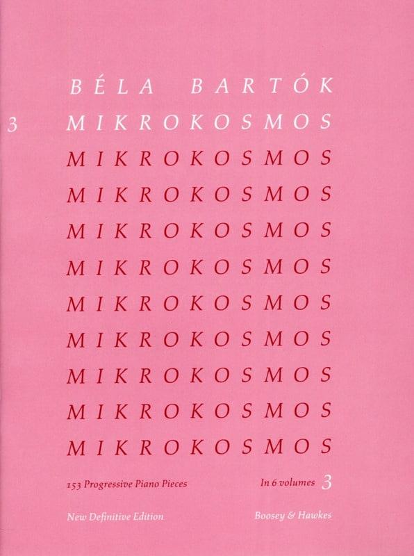 Mikrokosmos Volume 3 - BARTOK - Partition - Piano - laflutedepan.com