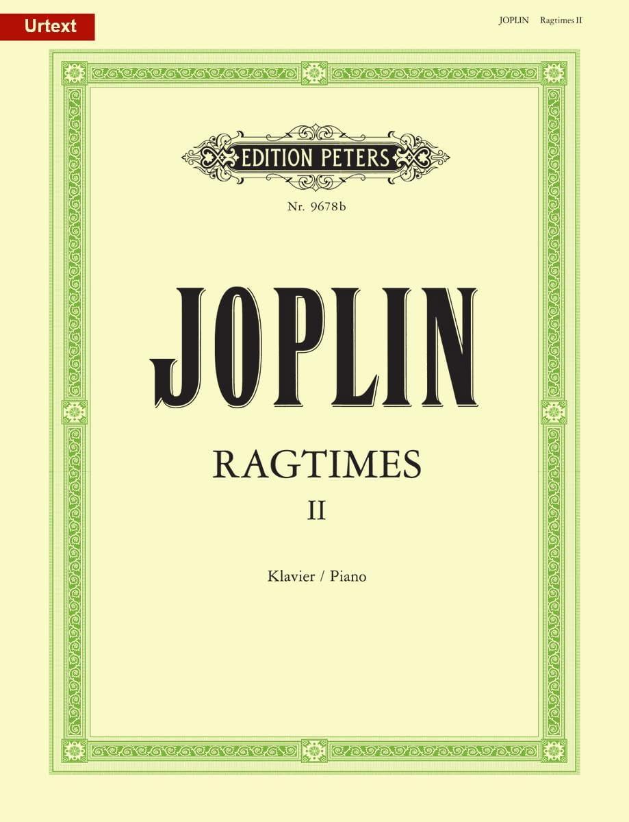 20 Ragtimes Volume 2 - JOPLIN - Partition - Piano - laflutedepan.com