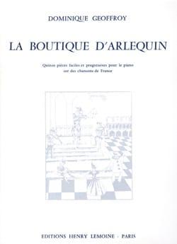 La Boutique D'Arlequin Dominique Geoffroy Partition laflutedepan