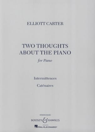 2 Thoughts About The Piano Elliott Carter Partition laflutedepan