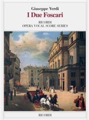 I Due Foscari - VERDI - Partition - Opéras - laflutedepan.com