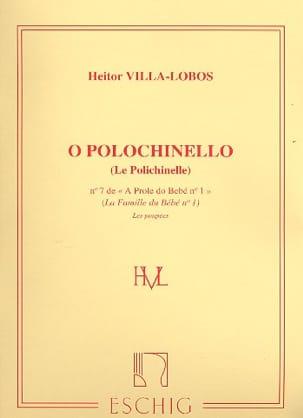A Prole de Bebe Volume 1 n° 7 Polichinelle VILLA-LOBOS laflutedepan