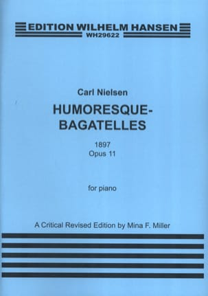 Humoresque Bagatelles Op. 11 - NIELSEN - Partition - laflutedepan.com