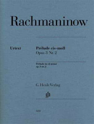 Prélude en do dièse mineur Opus 3-2 RACHMANINOV Partition laflutedepan