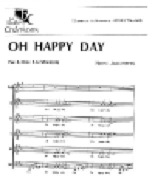 Oh Happy Day - E.R Hawkins - Partition - Chœur - laflutedepan.com