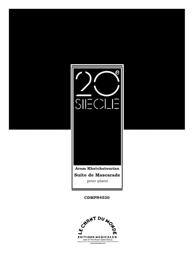 Suite de Mascarade - KHATCHATURIAN - Partition - laflutedepan.com